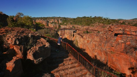 Blyde River Canyon - 14 Bourke's Luck Potholes