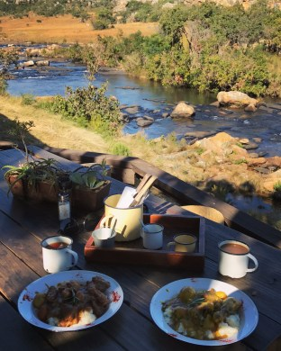Blyde River Canyon - 8 Potluck Boskombuis