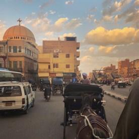 Luxor 3 Horse carriage ride 2