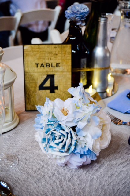 A Blue Bouquet by KO Events