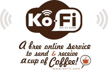 ko-fi.com free online service to send & receive a cup of coffee