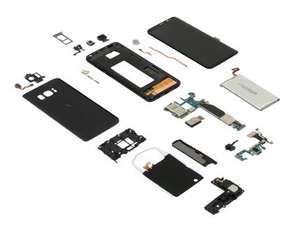 Стоимость производства Samsung Galaxy S8 не превысит 310 долл