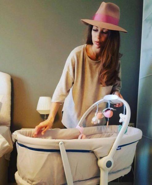 Бебето на Никол Станкулова
