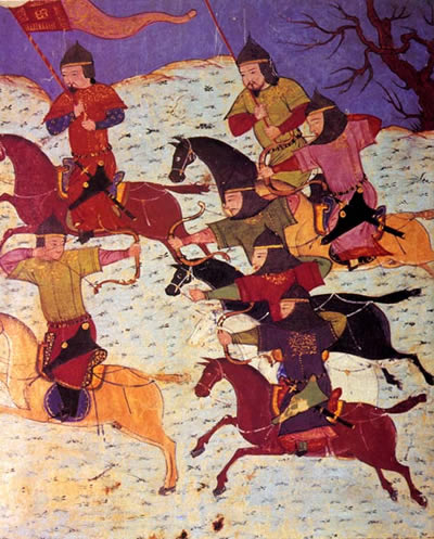 Как българите побеждават монголците