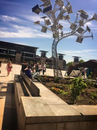 Solar powered trees