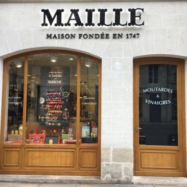 Restauration façade Boutique Maille