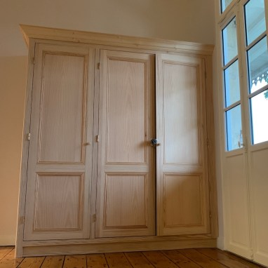Meuble créé à l'identique dans une maison bordelaise