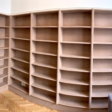 Bibliothèque prête à peindre
