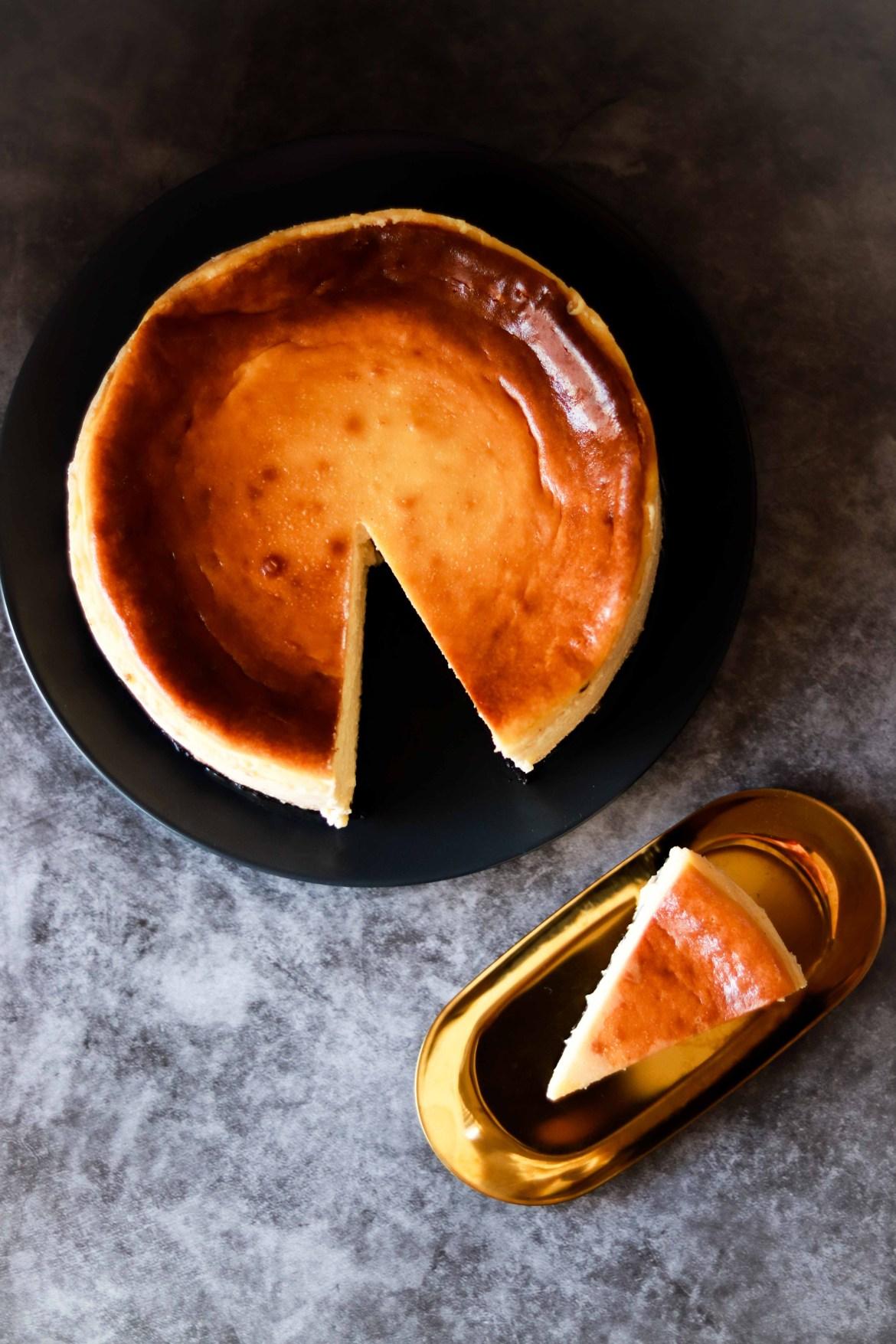 Baked Bailyes Cheesecake with Oreo Base7