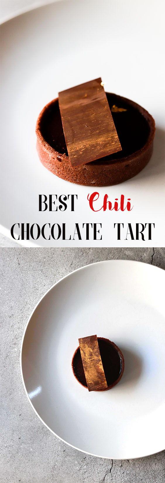 Chili Chocolate Tart