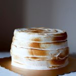 Honey Lemon Meringue Cake