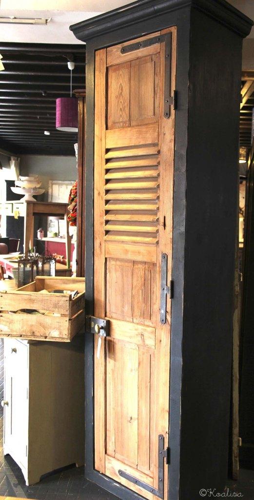 armoire porte volet