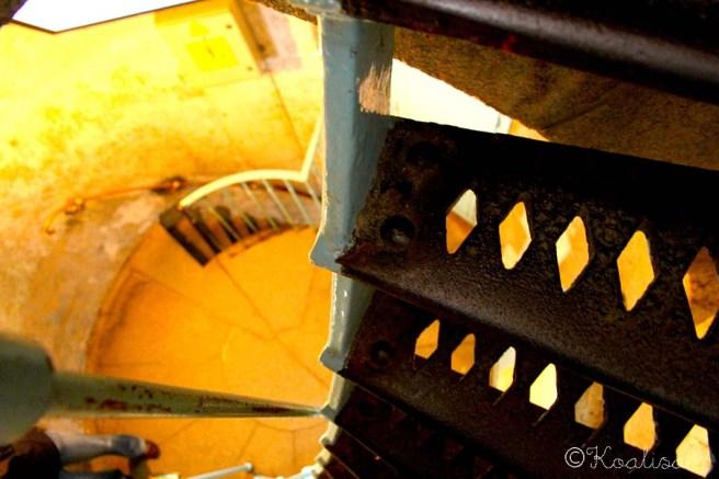escalier détail