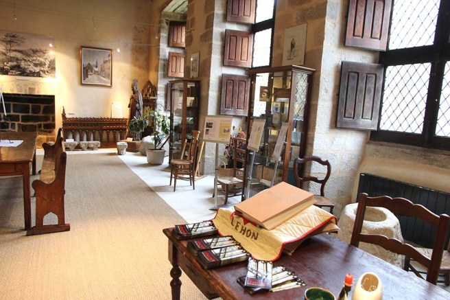 bibliothèque abbaye st magloire 2