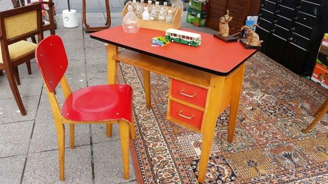 bureau chaise vintage