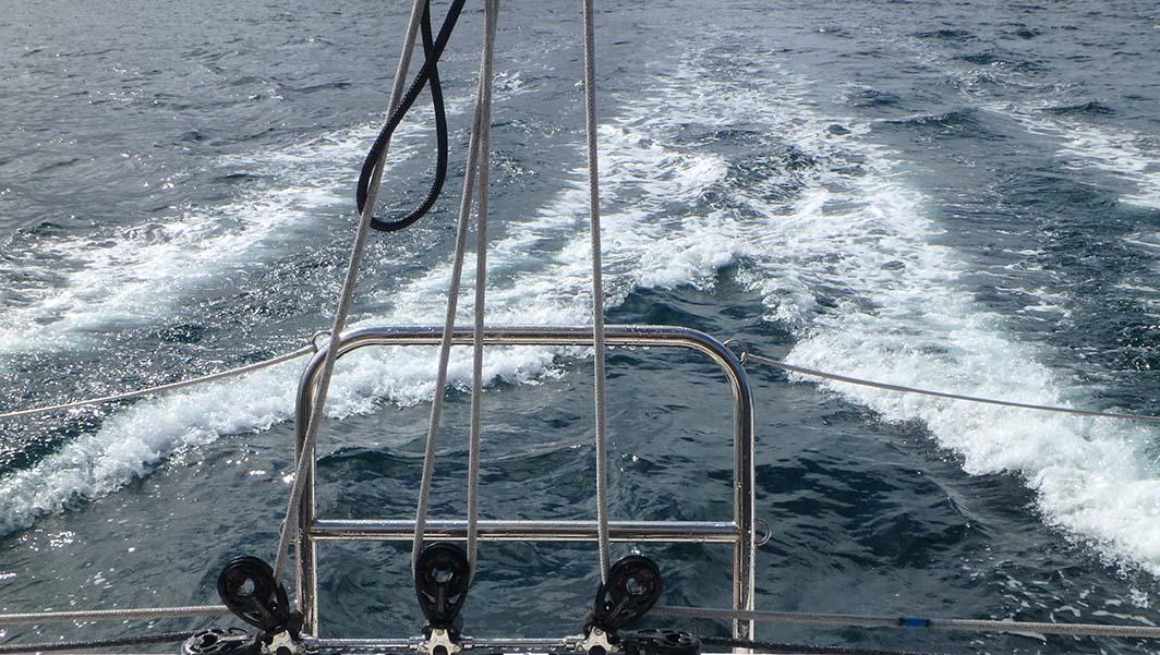 Sortie en mer sur le TS42 pour le Grand Prix Guyader 2017 à Douarnenez