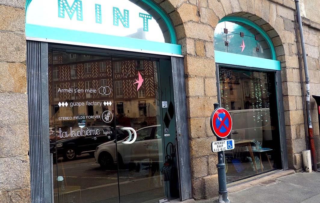 La boutique Mint,  à Rennes