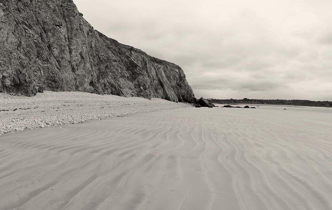 La plage de Kerloc'h, à Camaret