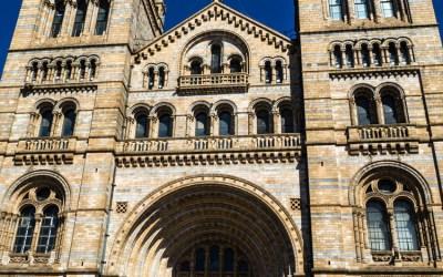 Le Natural History Museum à Londres
