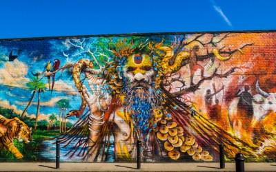 Vintage et street art à Brick Lane, Londres