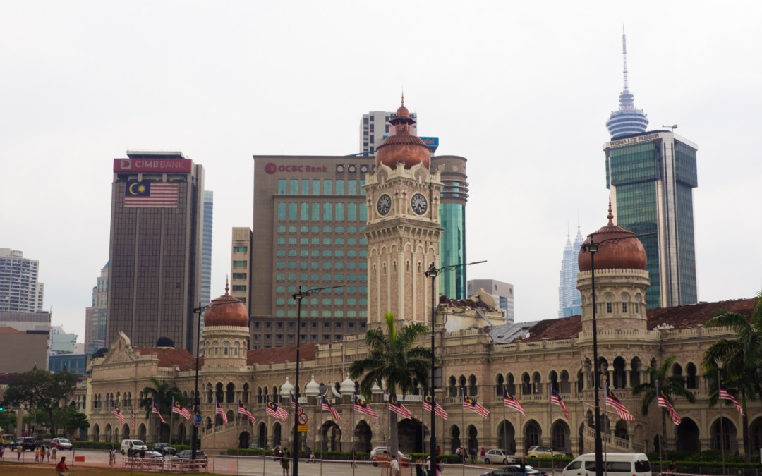 Merdeka Square et ses environs à Kuala Lumpur