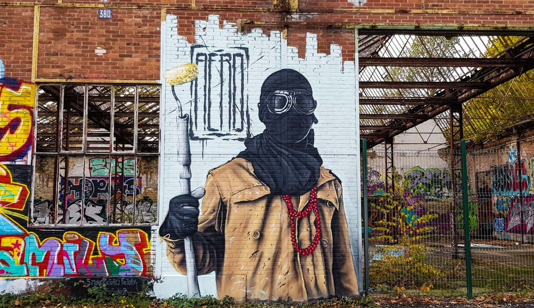 Street art à La Courrouze, Rennes
