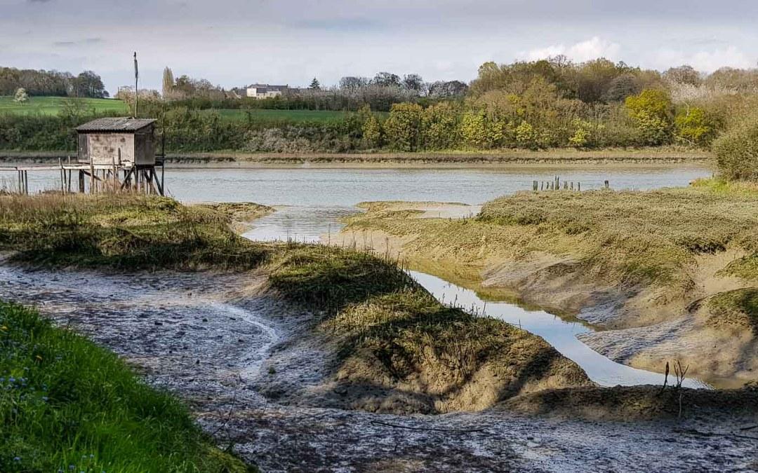 Les carrelets de Morgrève, à La Vicomté-sur-Rance