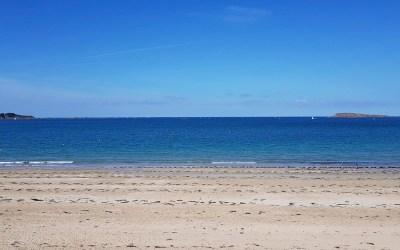 Instants volés à la plage en septembre