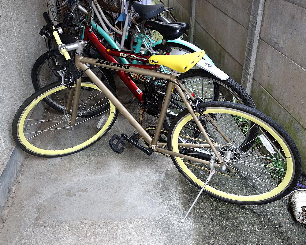 クリエイトバイク 540 ゴールド