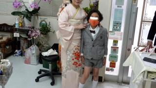 高円寺駅近美容室、訪問着着付け