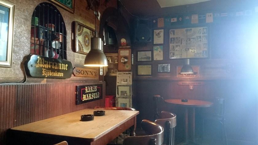 The interior of Cafe Malmo.