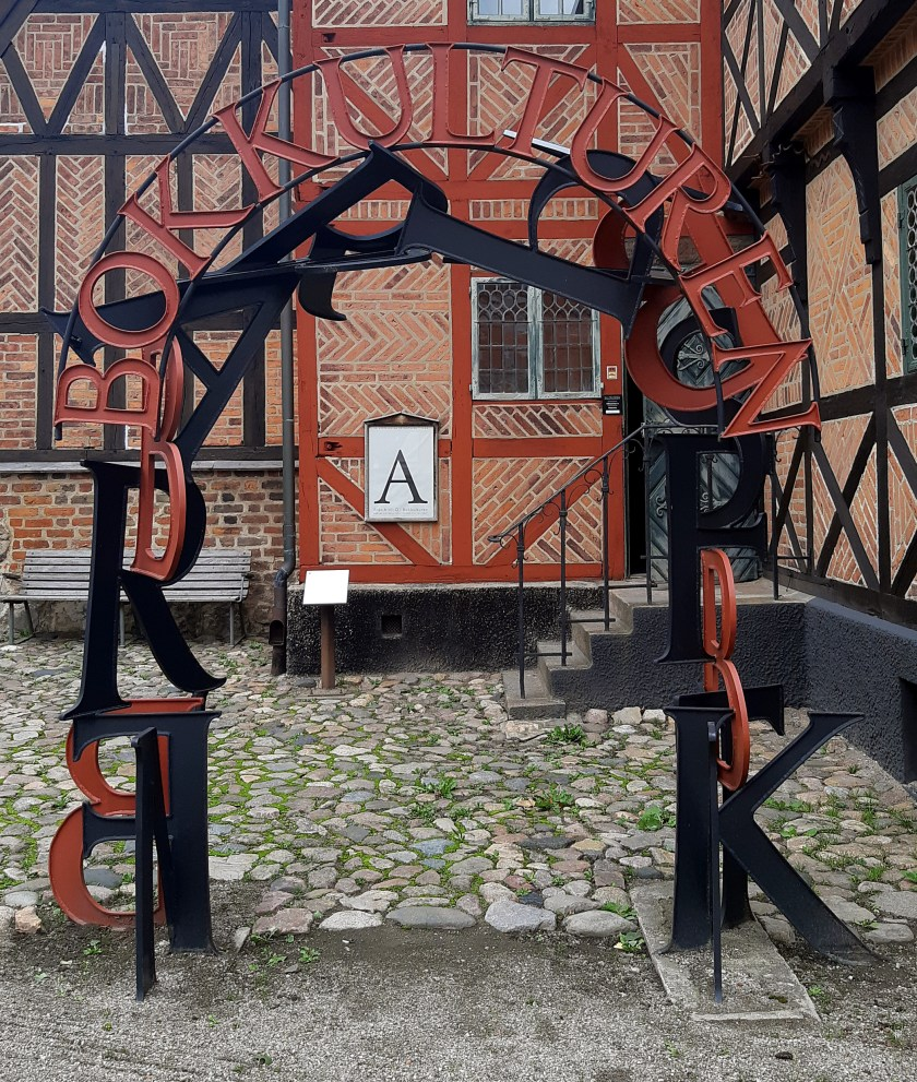 Entrance to the Bok Kulturen exhibit at the Lund Cultural Museum.