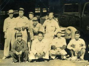 現会長の修行当時の写真