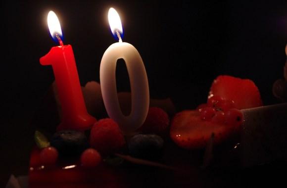 Bon anniversaire pour 10ans!