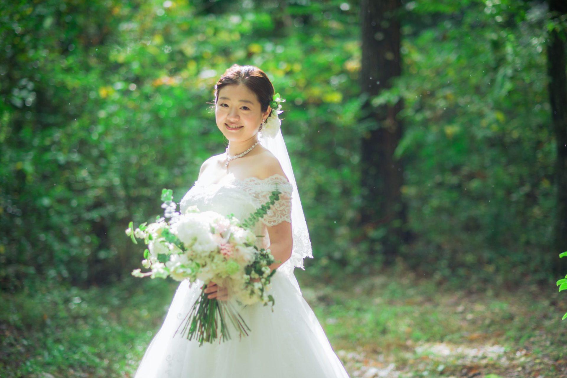 べるが(verga)での結婚式-新婦