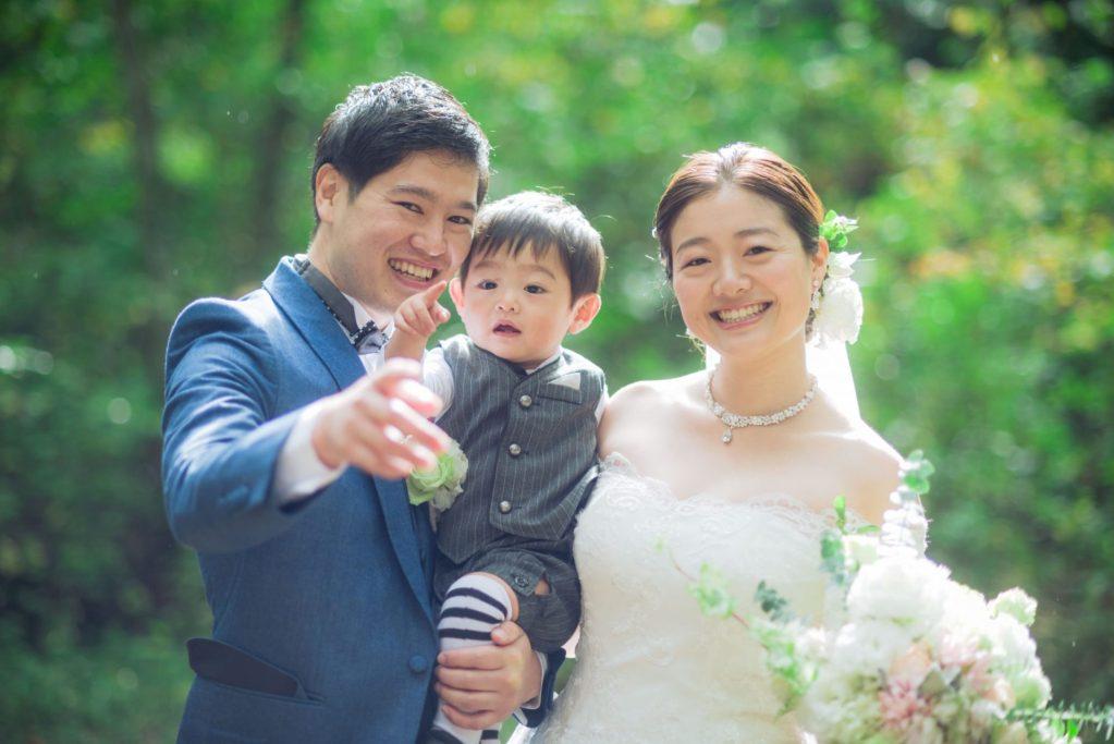 べるが(verga)での結婚式-家族写真