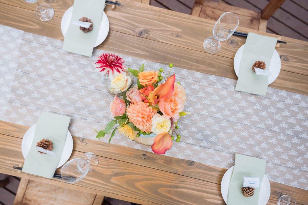 べるが(verga)での結婚式-テーブルセット