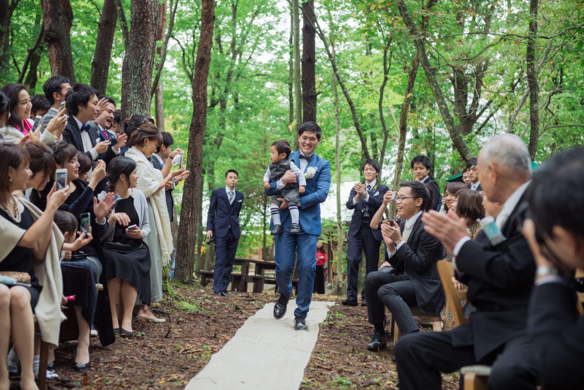 べるが(verga)での結婚式-入場