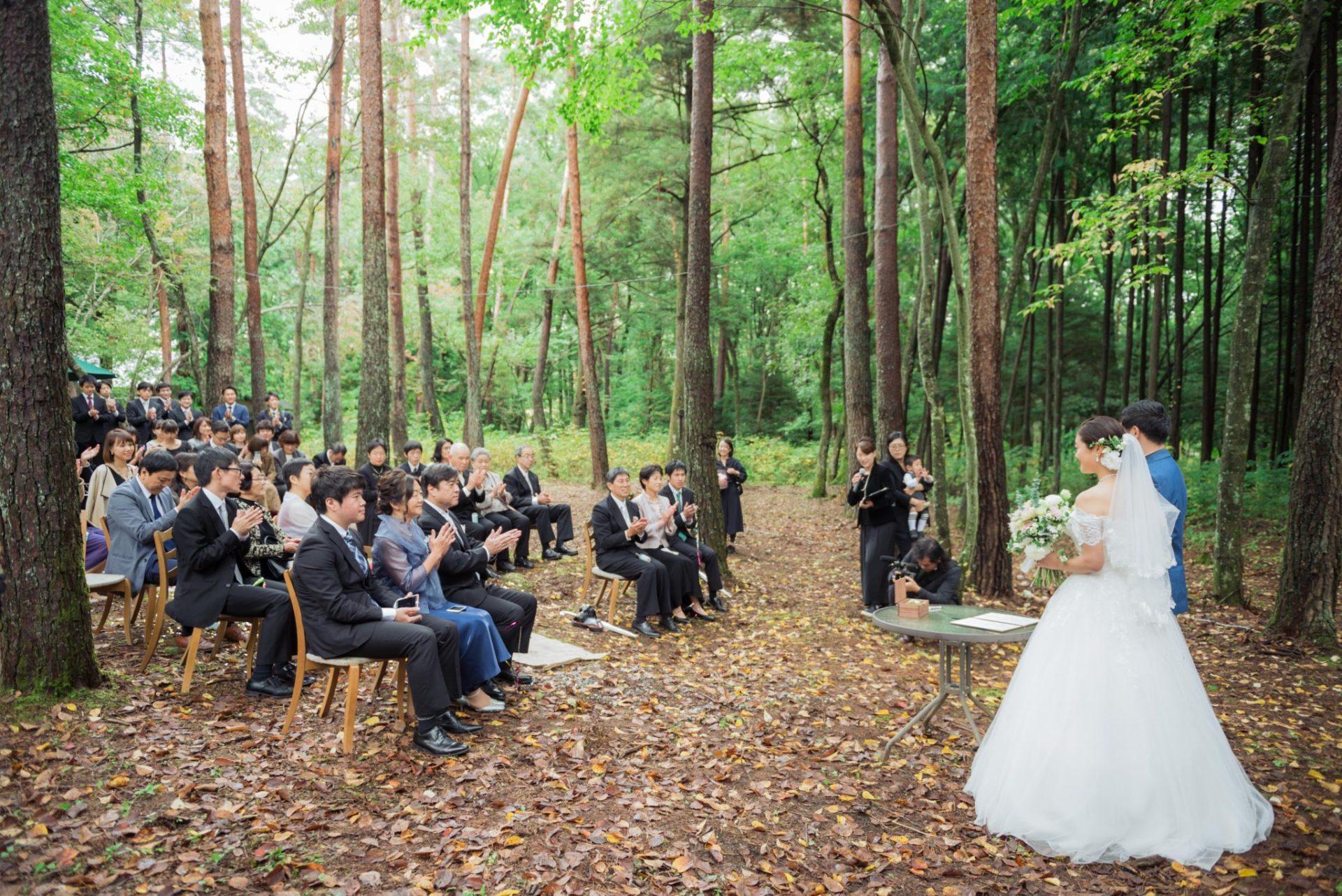 べるが(verga)での結婚式-承認の拍手
