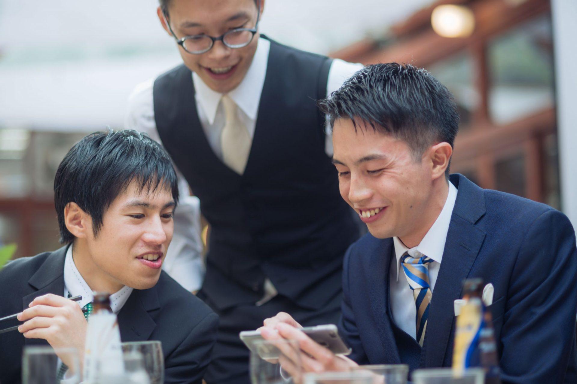 べるが(verga)での結婚式-ゲスト