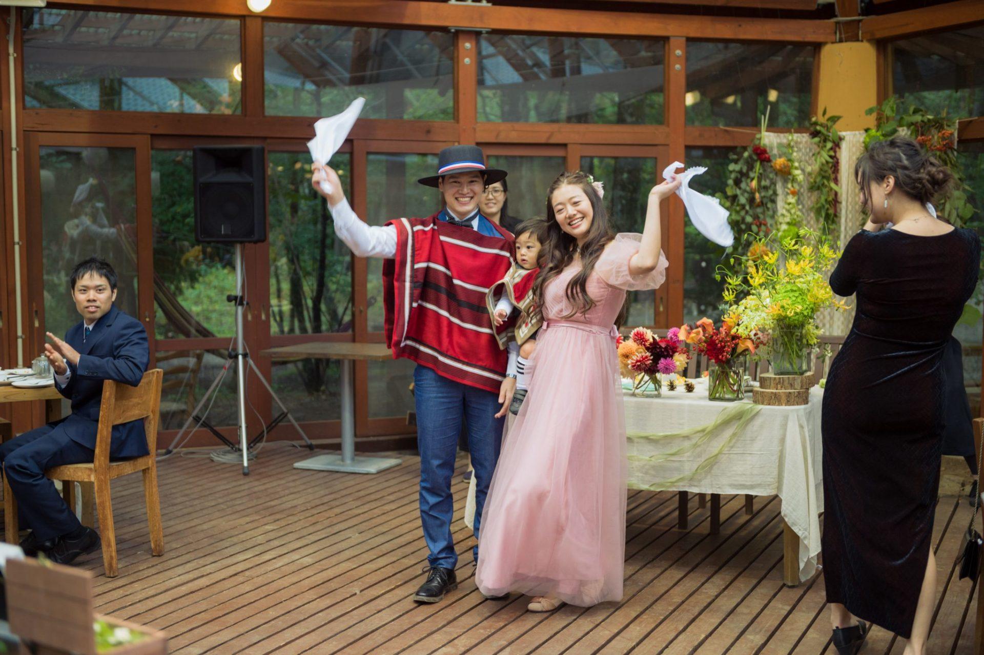 べるが(verga)での結婚式-ダンス