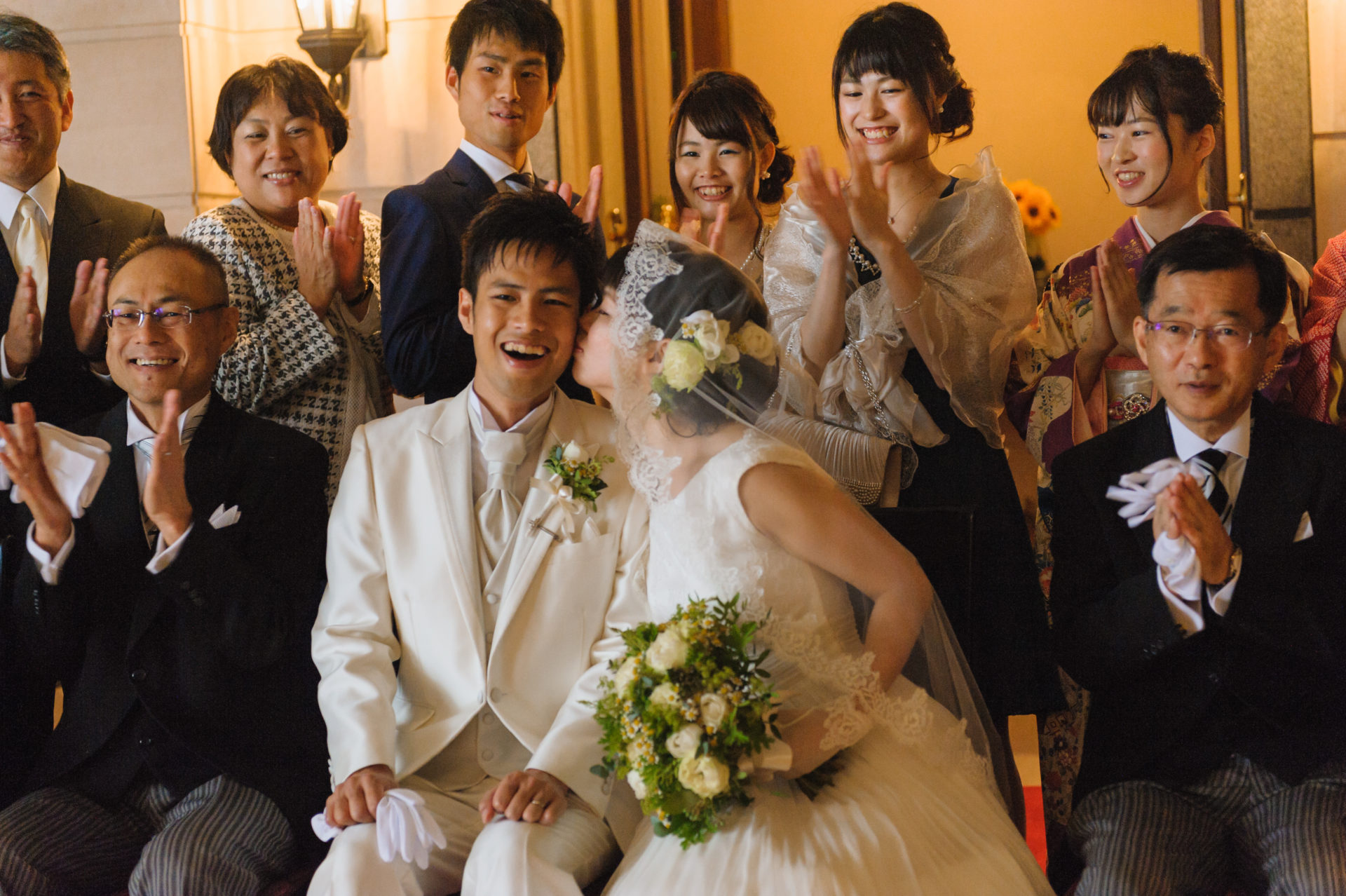 シェ松尾青山サロンでの結婚式