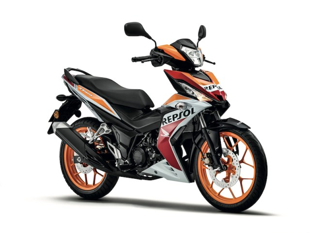all-new-honda supra gtr 150 repsol-edition