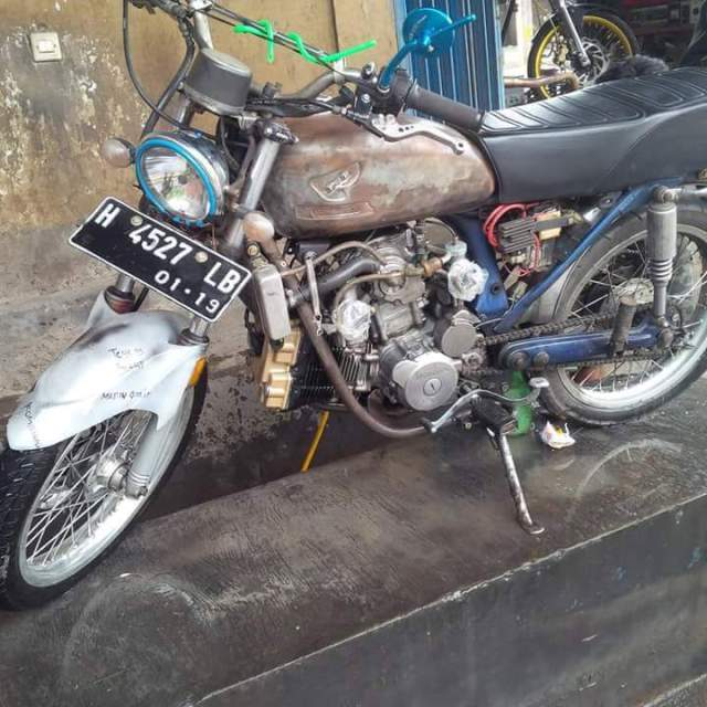modifikasi motor mahal