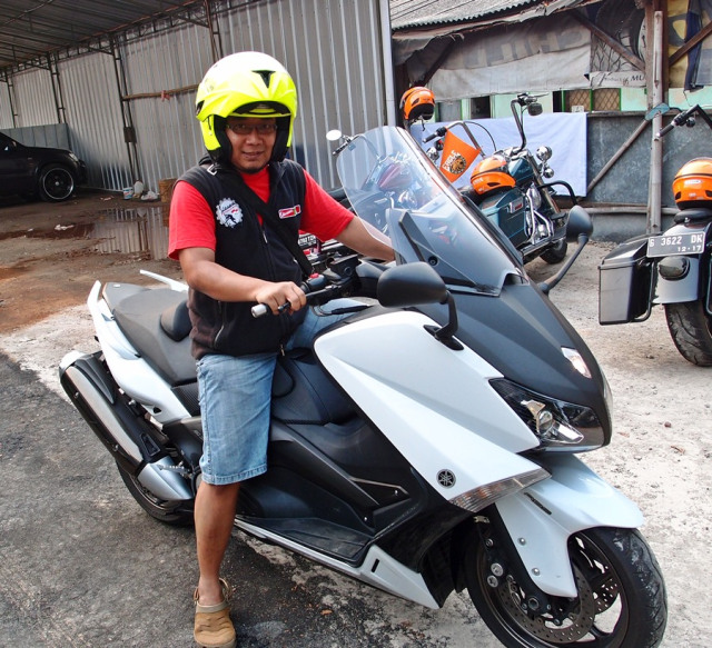 test ride yamaha tmax indonesia