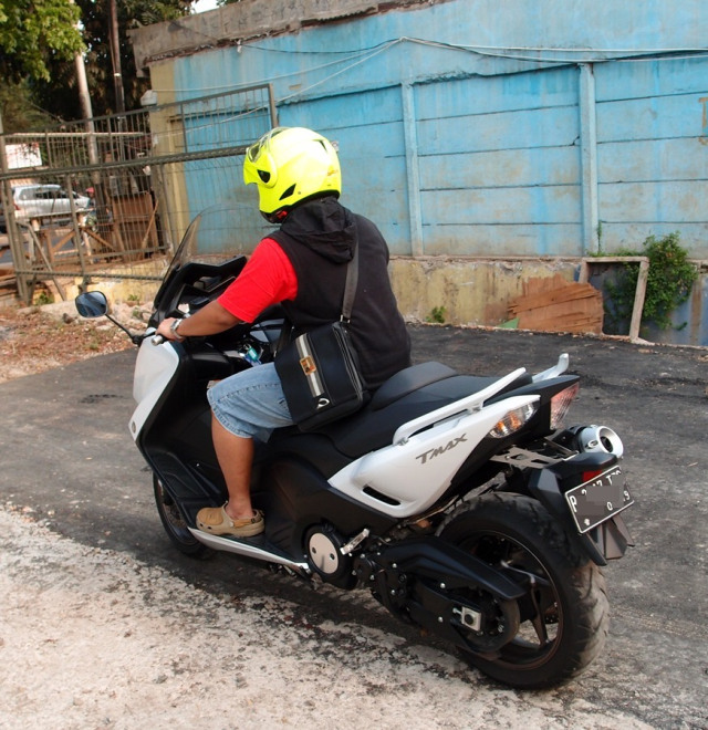 test ride Yamaha TMax 2 silinder