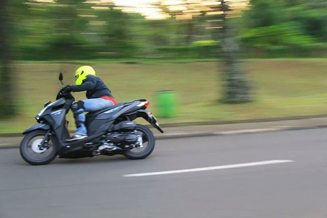 test ride all new vario 150
