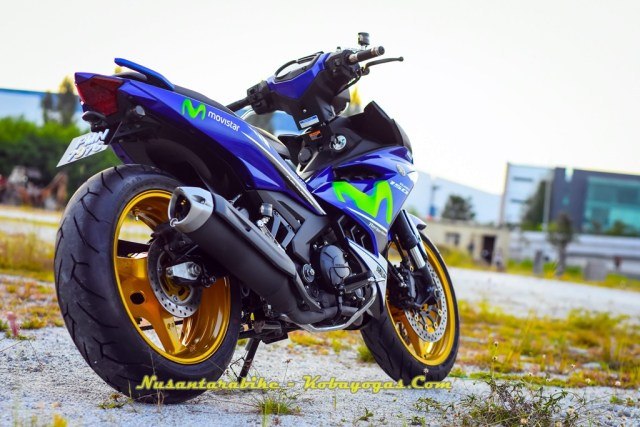 Modifikasi Yamaha MX King 150
