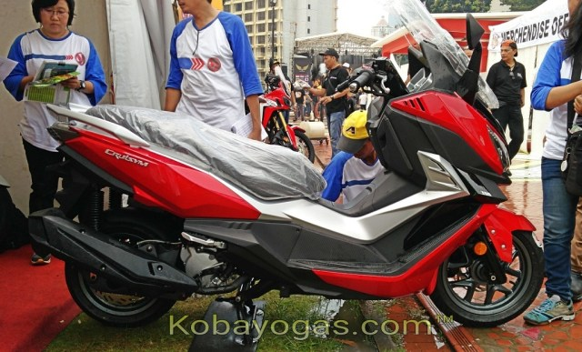 sym cruisym 300 indonesia