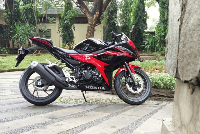 warna baru All New CBR150R k45g